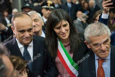 Minister of Cultural heritage Alberto Bonisoli, Mayor of Turin Chiara Appendino, President Piemonte Region Sergio Chiamparino