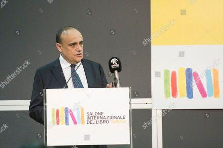 Minister of Cultural heritage Alberto Bonisoli