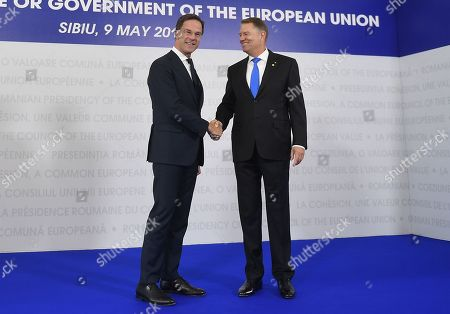 Editorial picture of EU Informal of Heads of State Summit, Sibiu, Romania  - 10 May 2019