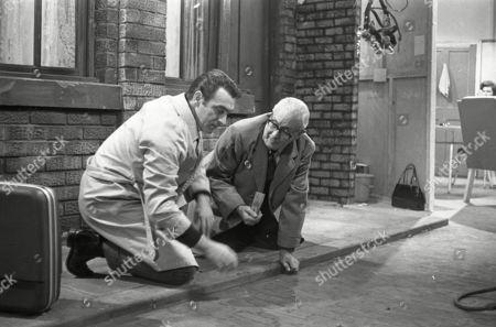 Ernst Walder (as Ivan Cheveski) and Arthur Leslie (as Jack Walker)