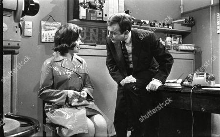 Eileen Mayers (as Sheila Birtles) and Geoffrey Matthews (as Neil Crossley)