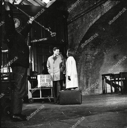 Geoffrey Matthews (as Neil Crossley) and Eileen Mayers (as Sheila Birtles)