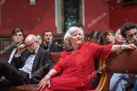 Ann Widdecombe speaking at No Platform Debate