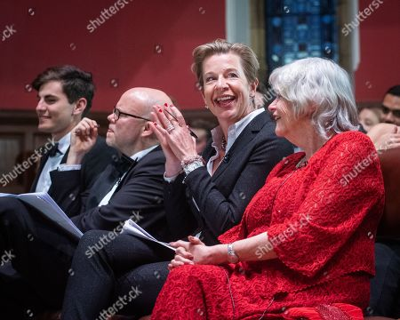 Editorial image of Anne Widdecombe and Katie Hopkins at the Oxford Union, UK - 09 May 2019