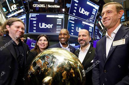 Uber IPO New York Stock Exchange Stock Photos (Exclusive