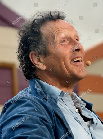 Monty Don, pictured during his presentation in the Festival Theatre.