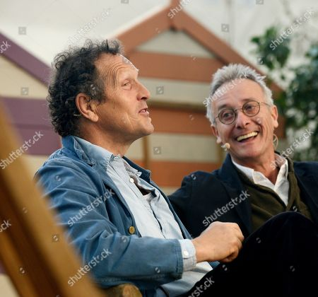 Monty Don and writer James Alexander-Sinclair.