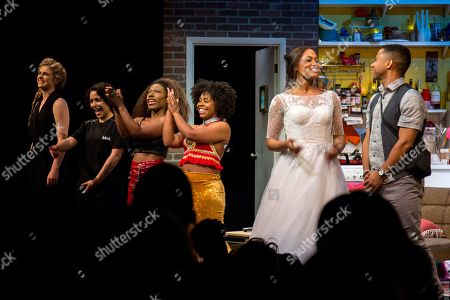 Editorial image of 'BLKS' play opening night, New York, USA - 09 May 2019