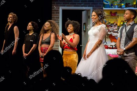 Editorial photo of 'BLKS' play opening night, New York, USA - 09 May 2019
