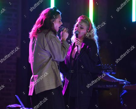 Editorial image of Aly & AJ perform at Revolution Live, Fort Lauderdale, Florida, USA - 09 May 2019