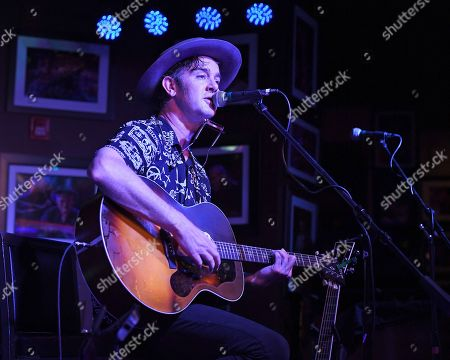 Editorial image of Garrett Dutton of G. Love and Special Sauce in concert, Boca Raton, Florida, USA - 09 May 2019