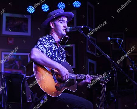 Editorial picture of Garrett Dutton of G. Love and Special Sauce in concert, Boca Raton, Florida, USA - 09 May 2019