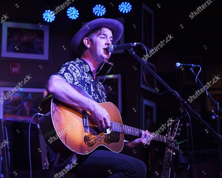 Editorial photo of Garrett Dutton of G. Love and Special Sauce in concert, Boca Raton, Florida, USA - 09 May 2019