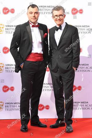 Stock Image of Gareth Malone and David Benson