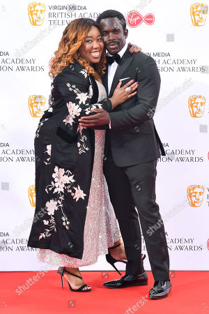 Chizzy Akudolu and Jimmy Akingbola