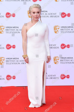 Editorial image of British Academy Television Awards, Arrivals, Royal Festival Hall, London, UK - 12 May 2019