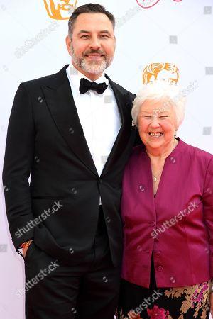 Stock Photo of David Walliams and Kathleen Williams