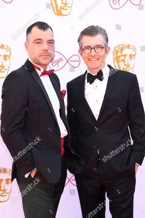 Stock Photo of David Benson and Gareth Malone
