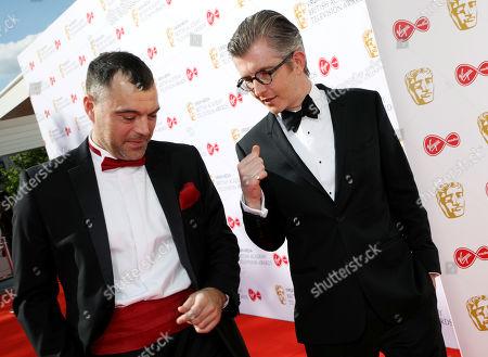 Stock Picture of David Benson and Gareth Malone
