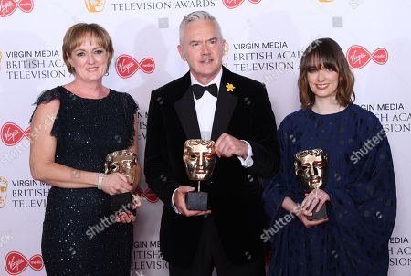 Claire Popplewell, Huw Edwards, Rosheen Archer - Live Event - 'The Royal British Legion Festival of Remembrance'