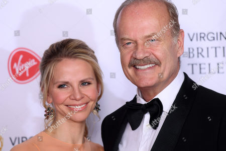 Stock Photo of Kelsey Grammer and Kayte Walsh