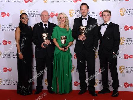 Debbie Dubois, Phil Bigwood, Steve Rudge, Richard Hughes - Sport - '2018 World Cup Quarter Final', presented by Alex Scott and Billy Monger