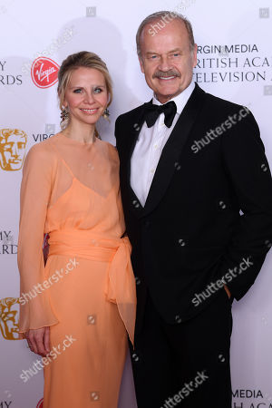 Stock Image of Kelsey Grammer and Kayte Walsh