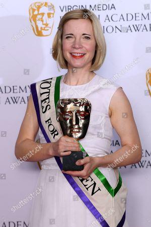 Editorial image of British Academy Television Awards, Press Room, Royal Festival Hall, London, UK - 12 May 2019
