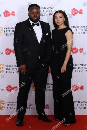 Leonie Elliott and Samson Kayo