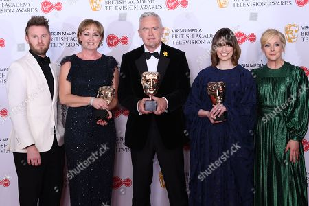 Claire Popplewell, Huw Edwards, Rosheen Archer - Live Event - 'The Royal British Legion Festival of Remembrance', presented by Jane Krakowski and Bobby Berk