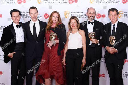 Benedict Cumberbatch, David Nicholls, Edward Berger, Helen Flint, Michael Jackson - Mini-Series - 'Patrick Melrose', presented by Andrew Scott