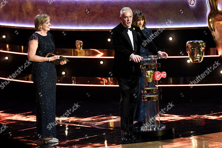 Claire Popplewell, Huw Edwards, Rosheen Archer - Live Event - 'The Royal British Legion Festival of Remembrance' presented by Bobby Berk and Jane Krakowski