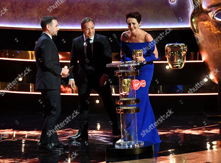 Fiona Shaw - Supporting Actress - Killing Eve presented by Martin Compston and Stephen Graham