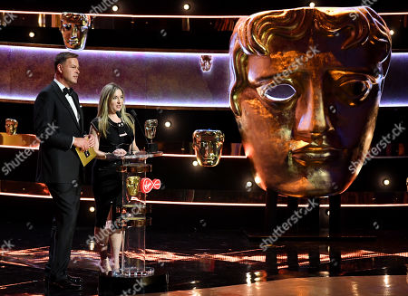 Editorial photo of British Academy Television Awards, Ceremony, Royal Festival Hall, London, UK - 12 May 2019