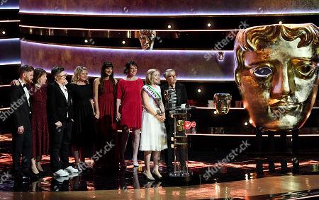 Editorial photo of British Academy Television Awards, Ceremony, Royal Festival Hall, London, UK - 12 May 2019