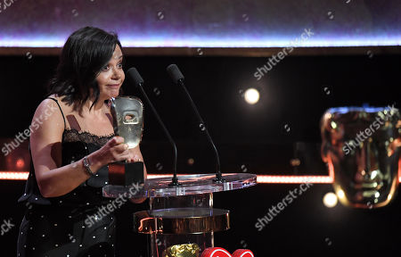 Nicola Shindler - Special Award, presented by Suranne Jones and Lenny Henry