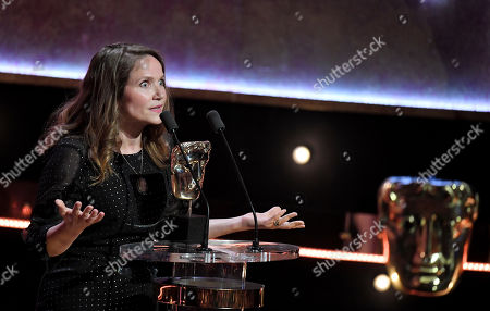 Stock Image of Jessica Hynes - Female Performance in a Comedy Programme - There She Goes presented by Lolly Adefope and Mo Gilligan