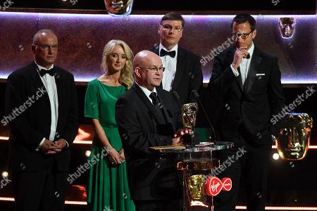 Debbie Dubois, Phil Bigwood, Steve Rudge and Richard Hughes - Sport - World Cup Quarter Final: England v Sweden presented by Alex Scott and Billy Monger