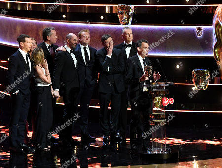 Stock Photo of David Nicholls, Edward Berger, Helen Flint, Michael Jackson, Benedict Cumberbatch - Mini-Series - 'Patrick Melrose'