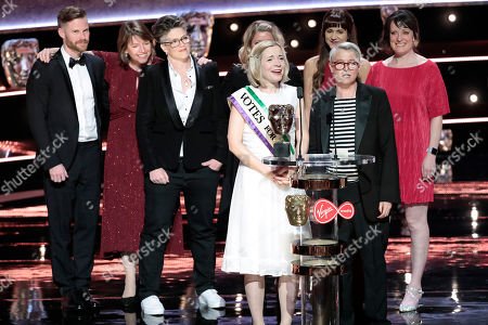 Lucy Worsley, Emma Frank, Emma Hindley, Robin Daly - Specialist Factual - 'Suffragettes with Lucy Worsley