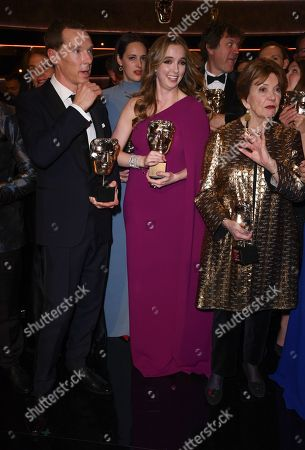 Benedict Cumberbatch, Jodie Comer and Joan Bakewell