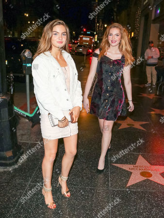 Editorial image of Saxon Sharbino and Brighton Sharbino out and about, Los Angeles, USA - 09 May 2019