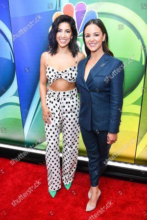 Stephanie Beatriz and Melissa Fumero