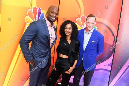 Akbar Gbaja-Biamila, Zuri Hall and Matt Iseman