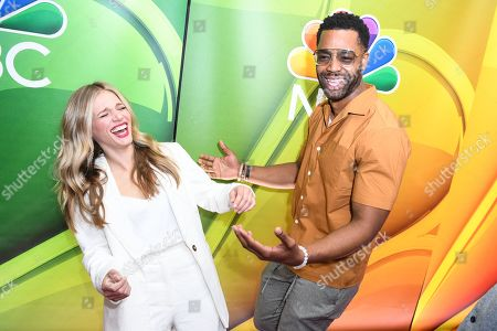 Tracy Spiridakos and LaRoyce Hawkins