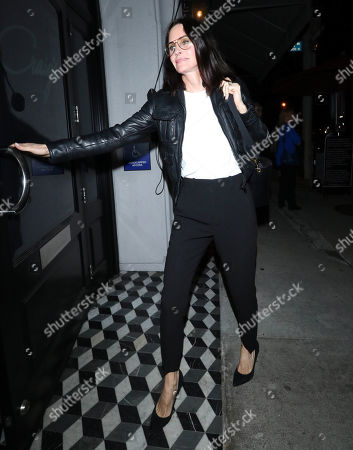 Editorial photo of Courtney Cox out and about, Los Angeles, USA - 09 May 2019