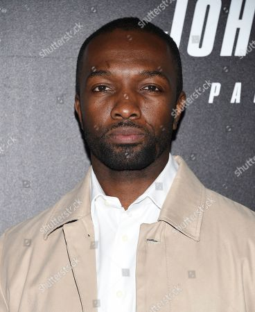 """Stock Picture of Jamie Hector attends the world premiere of """"John Wick: Chapter 3 - Parabellum"""" at One Hanson, in New York"""