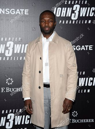 """Stock Image of Jamie Hector attends the world premiere of """"John Wick: Chapter 3 - Parabellum"""" at One Hanson, in New York"""