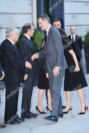King Felipe VI, Queen Letizia, Pedro Sanchez, Prime Minister, Ana Pastor Garcia