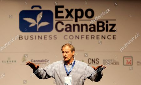 Editorial picture of Expo Cannabiz Business Conference in Cartagena de Indias, Colombia - 10 May 2019